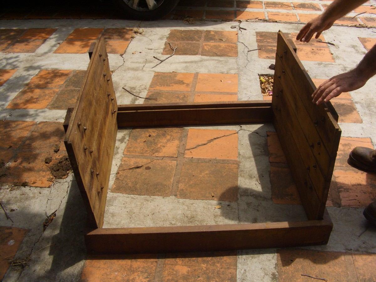 Ventanas de madera coloniales con puertas los chaguaramos for Ventanas de madera mercadolibre argentina