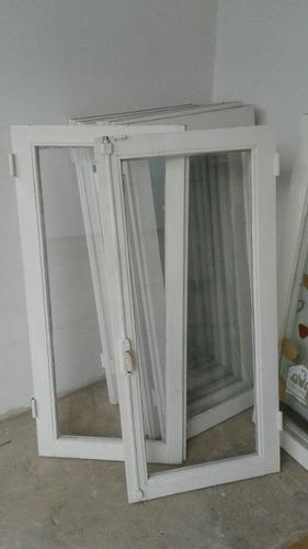 ventanas de madera con vidrio de 4, 3 y 2 hojas sin marco!!!