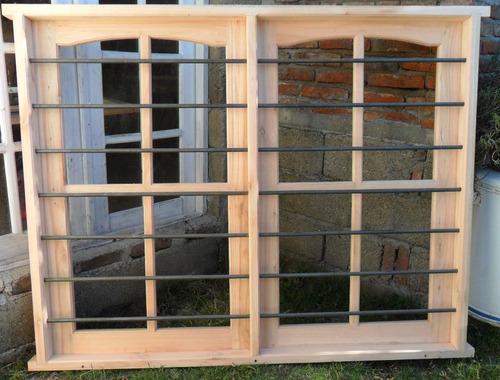 ventanas de madera en eucalipto batientes o corredizas