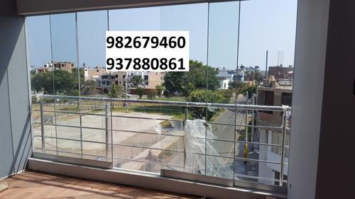 ventanas de vidrio mamparas vidrios templados  982679460