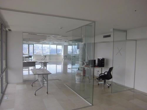 ventanas panoramica vidrios blindado  acero inox y dry wall