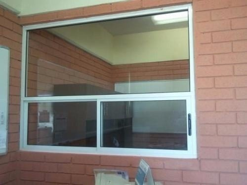 ventanas panorámicas aluminio, rejas divisiones de espacios