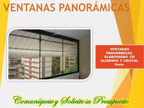 ventanas panorámicas, cierre de balcones, fachadas comerc