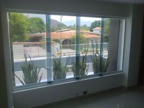ventanas panoramicas  en aluminio y vidrios economicas