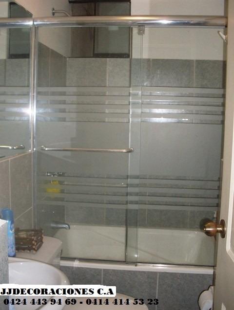 Ventanas panor micas puertas de ba o aluminio vidrios bs 100 00 en mercado libre - Puertas plegables para banos ...