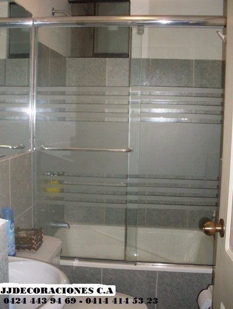Ventanas panor micas puertas de ba o aluminio vidrios - Puertas de bano corredizas ...