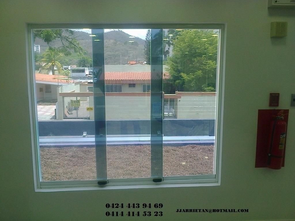 Ventanas panor micas puertas de ba o aluminio vidrios for Precio de aluminio para ventanas