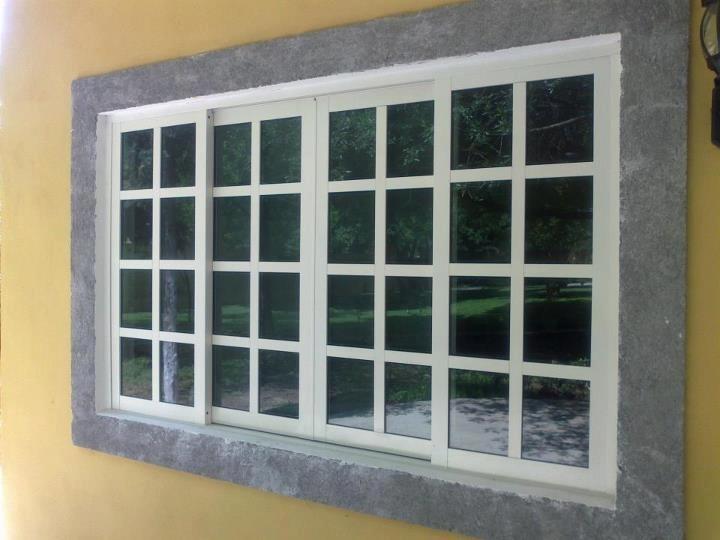 Ventanas y puertas de aluminio 1 en mercado libre for Aberturas de aluminio puerta ventana