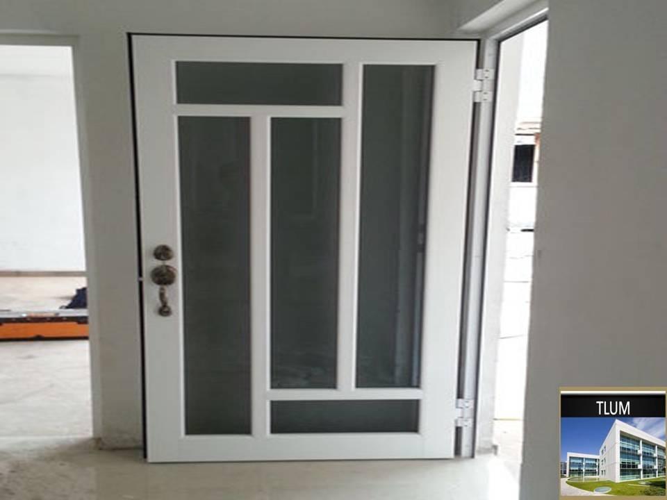 Ventanas puertas y canceles de aluminio 1 en for Modelos de puertas y ventanas de aluminio