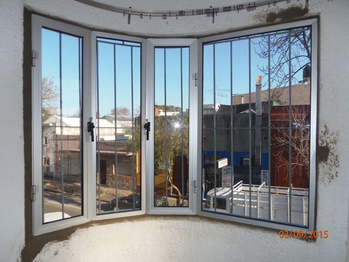 Ventanas y puertas aluminio mamparas cerramientos herreria en mercado libre - Puertas para cerramientos ...