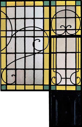 ventanas y puertas en hierro vidrios repartidos estilohogar