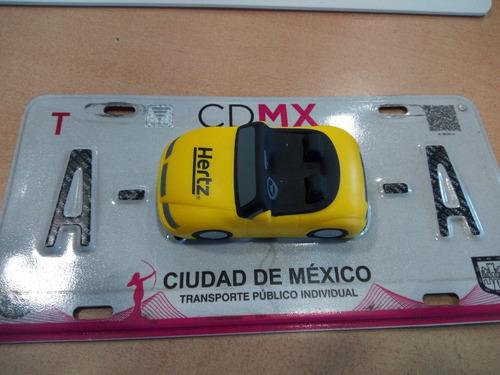 venta/renta placas de taxi de la cdmx serie a