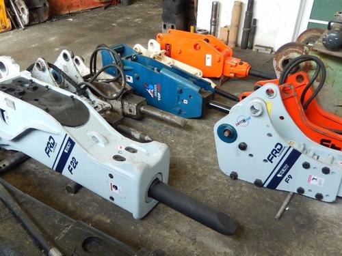 venta,renta, refacciones de martillos hidraulicos