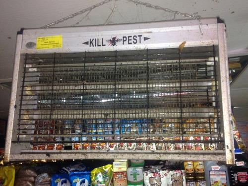 venta,revision y mantenimiento lámparas matamoscas