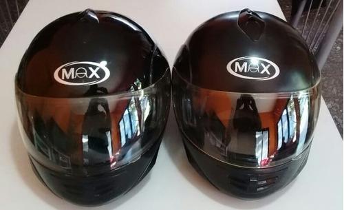 ventas de 2 cascos max a $5800