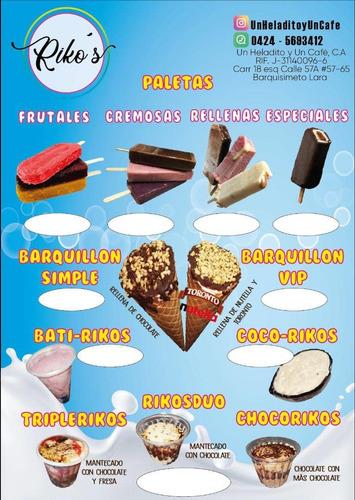ventas de helados al mayor barquisimeto