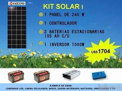 ventas de inversores paneles solares,baterias y mas