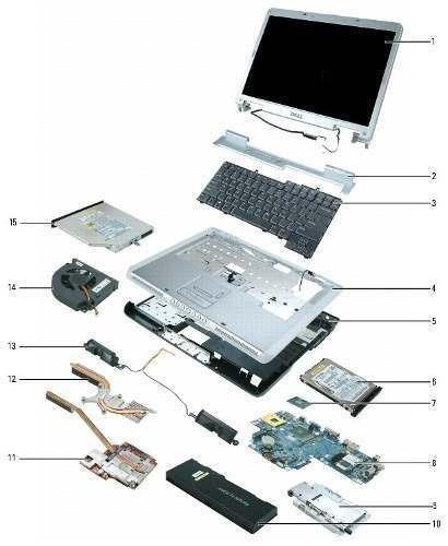 ventas  de piezas y repuestos para laptop y pc