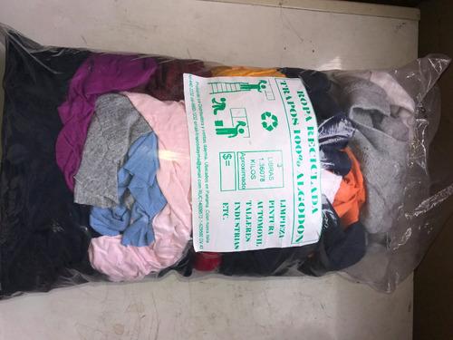 ventas de trapos para talleres y ropas de segunda