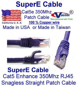 27100-10 Ft UTP Cat5e Patch Cable White
