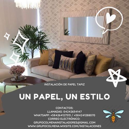 ventas, instalación y reparación de papel tapiz