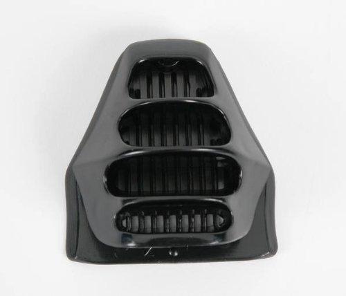 ventilación barbilla afx fx-8/9/6r '02 repuesto negro