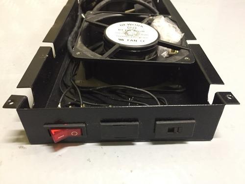 ventilação rack 2 ventiladores rolamento 110/220  frete incl