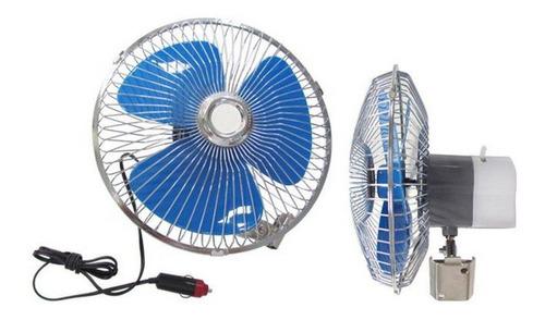 ventilador 12v 8 pol giratório carro van trailer