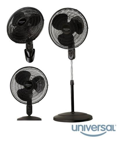 ventilador 3 en 1 3 18` velocidades negro universal garantia