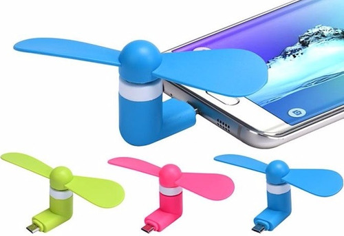 ventilador abanico celular android samsung iphone - gangaa!!