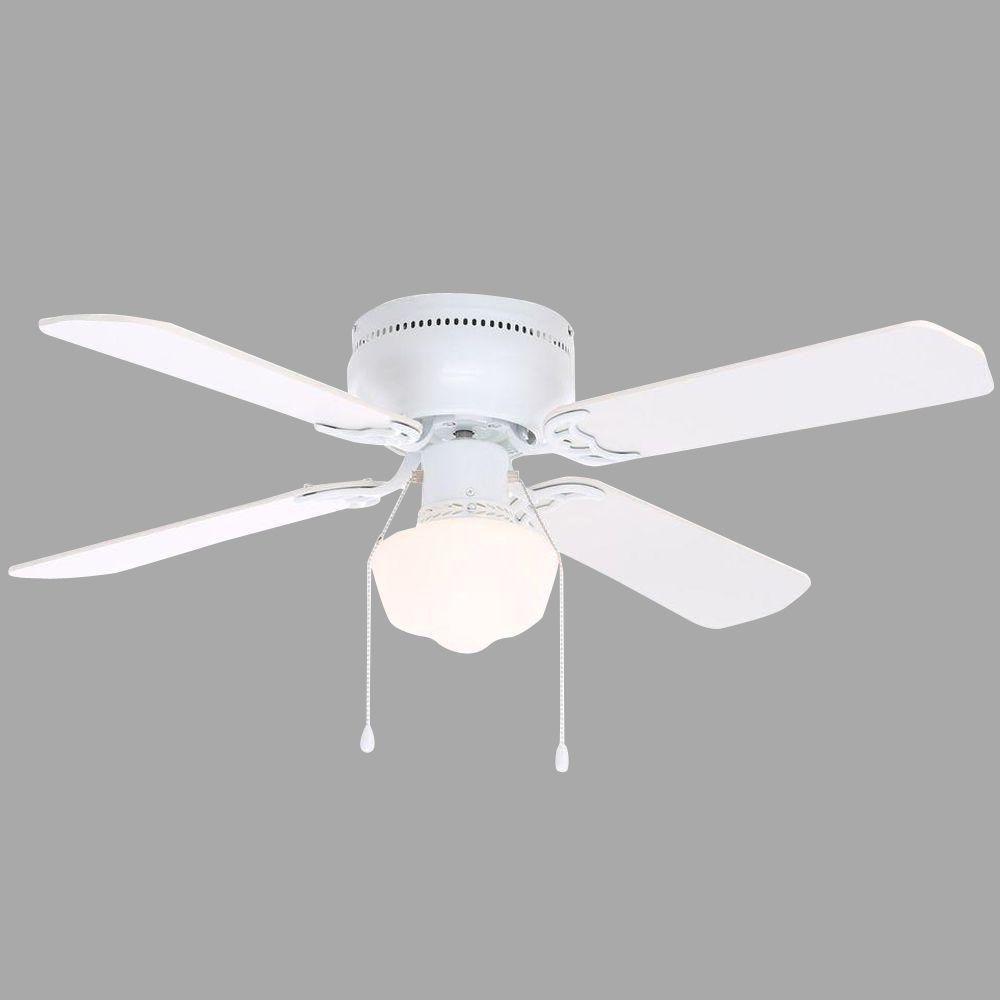 Ventilador Abanico Techo Littleton 42 Blanco Env 237 O Gratis