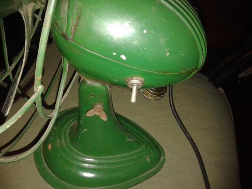 ventilador antiguo siam di tella personaire excelente!!!