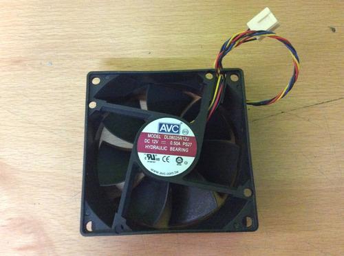 ventilador avc dl08025r12u dc 12v 0.50a 4 polos