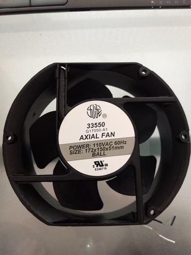ventilador axial de balinera 172x150x51mm 33550 / g17050ha1