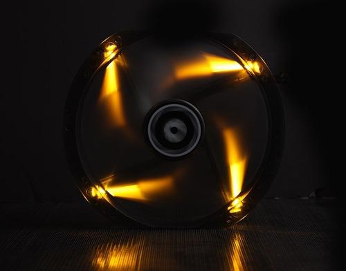 ventilador bitfenix spectre 230 mm led red - rojo