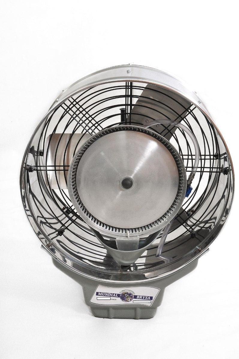 Ventilador climatizador 50cm umidificador de parede a gua - Climatizador de agua ...