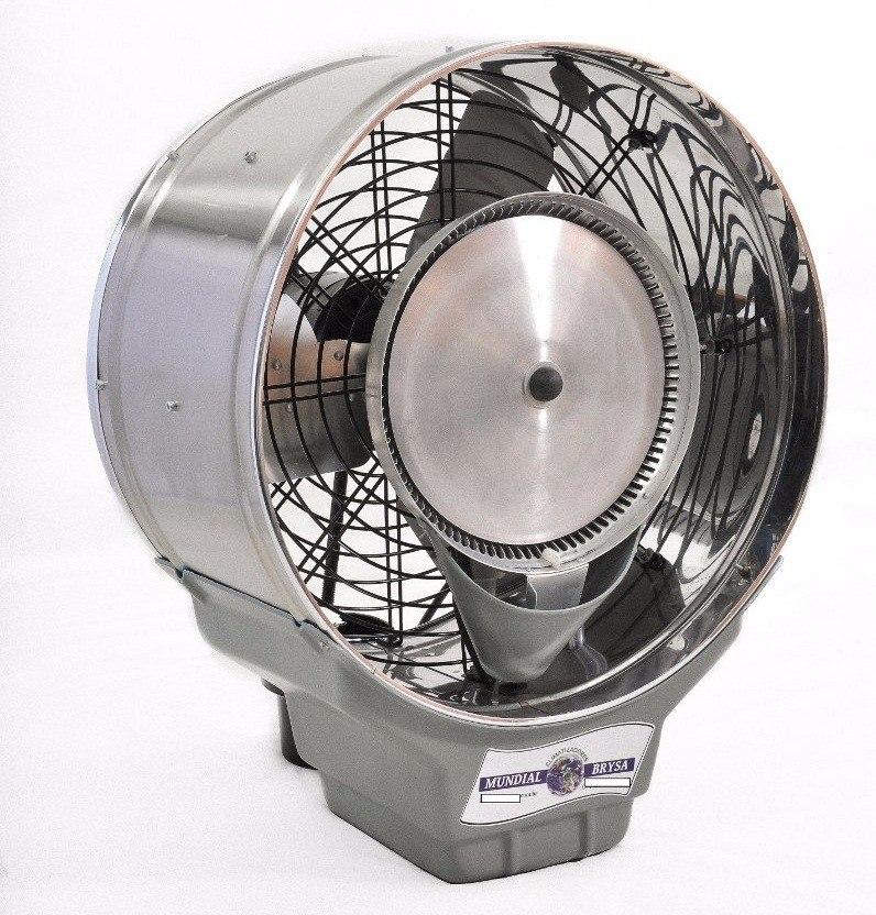 Ventilador climatizador de parede a gua 50cm umidificador - Climatizador de agua ...