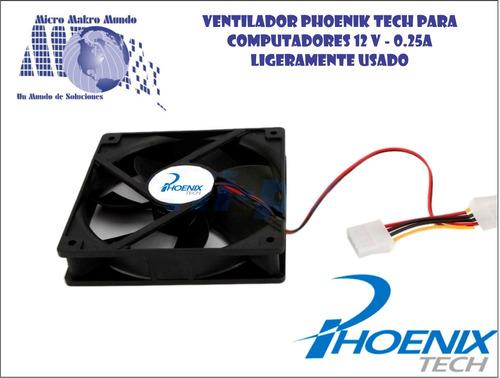 ventilador computadores phoenik tech ligeramente usados