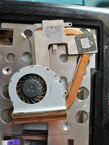 ventilador con disipador de calor thosiba