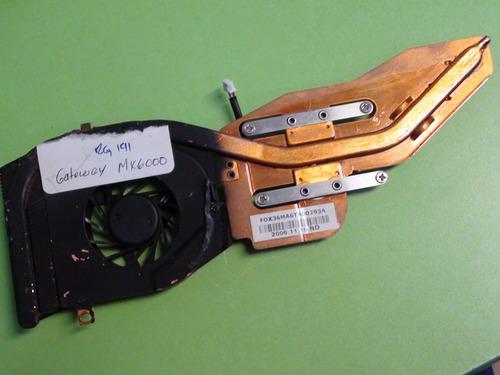 ventilador con disipador gateway mx6000