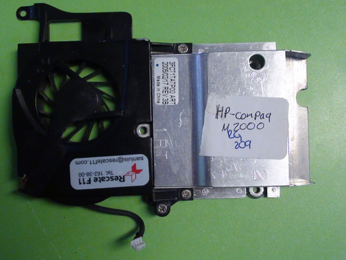 ventilador con disipador hp compaq m2000