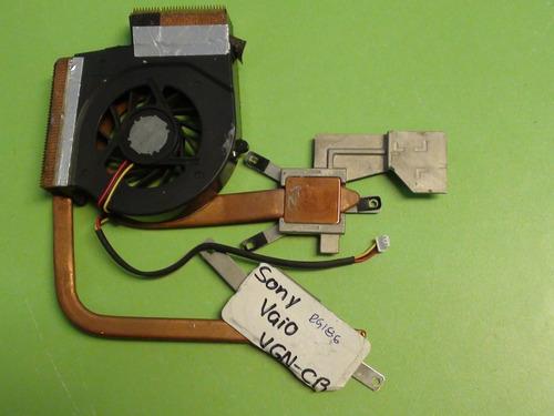 ventilador con disipador sony-vaio vgn-cr