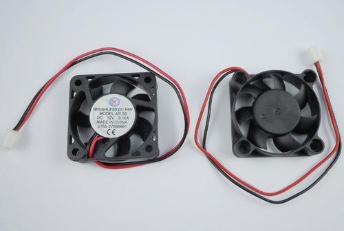 ventilador cooler  12v  4x4x10 especial para dvr