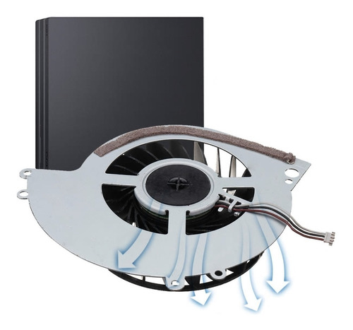 ventilador cooler interno para ps4 play station 4 1000/1100