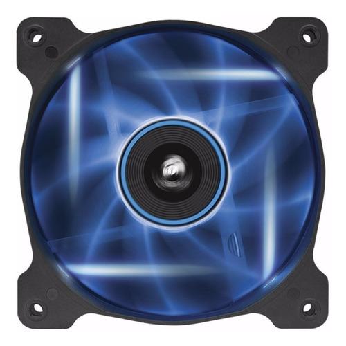 ventilador corsair air series af120 led azul, 1pza,120mm x 2