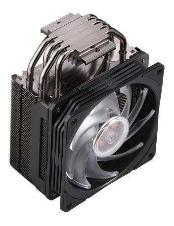 ventilador cpu cooler master hyper 212 rgb black edition air
