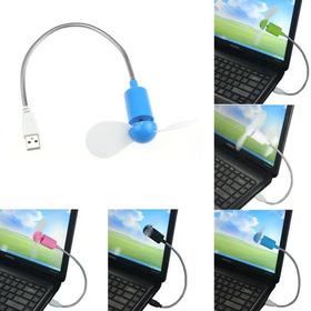 Ventilador D Aspas Usb Para Laptop Pc Flexible Apple Android