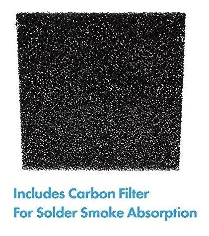 ventilador de banco de doble funcion y absorbedor de humo