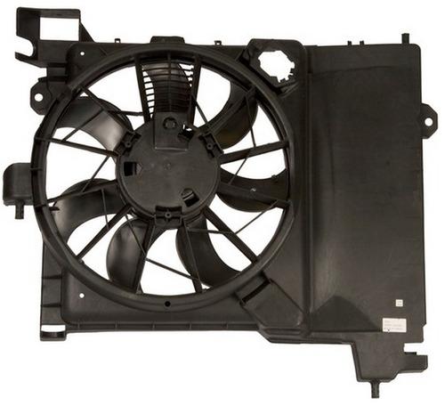 ventilador de condensador chrysler aspen 2007 - 2009 nuevo!!