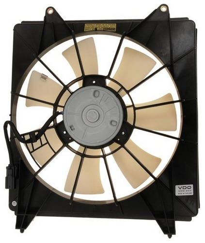 ventilador de condensador honda accord 2.4l l4 2008 - 2012